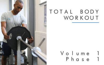 Total Body Workout Plan Vol1 Phase 1