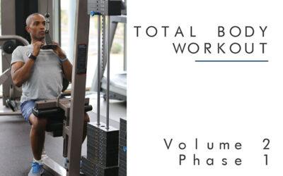 Total Body Workout Plan Vol2 Phase1