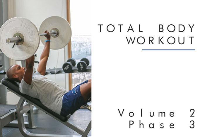 Total Body Workout Plan Vol2 Phase3