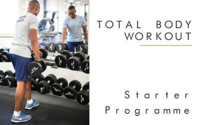 Weight Training Starter Plan